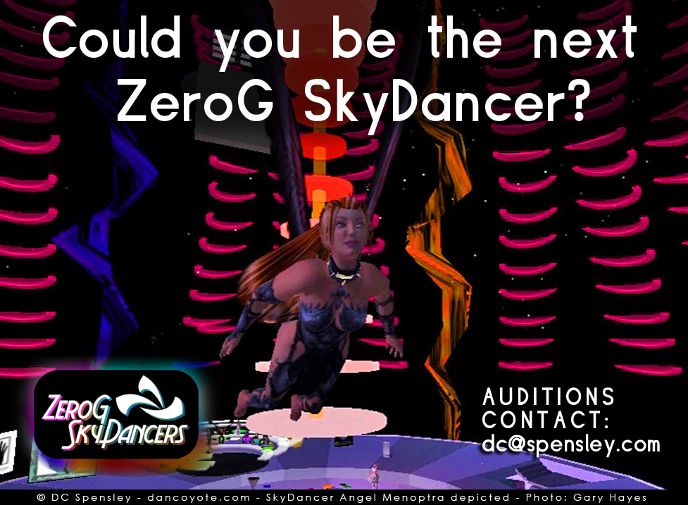 SkyDancer Recruitment Poster 1
